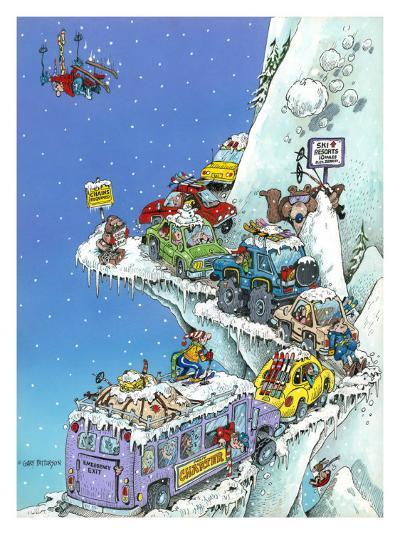Ski Fever-Gary Patterson-Giclee Print