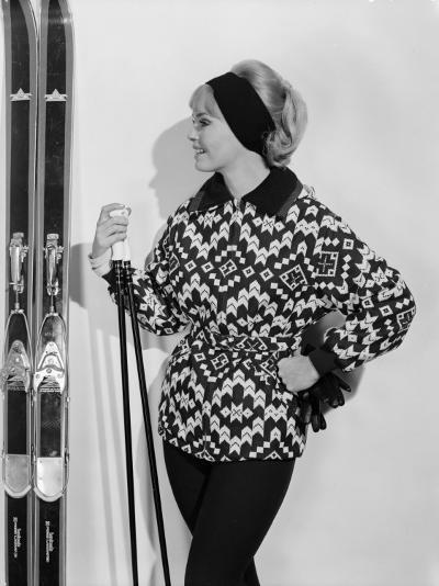 Ski-Jacket-Chaloner Woods-Photographic Print