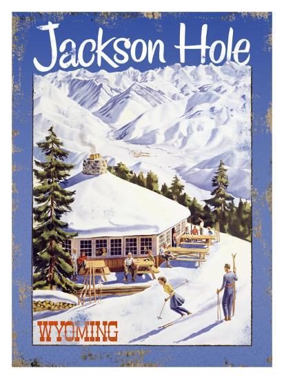 Ski Jackson Hole, Wyoming--Giclee Print