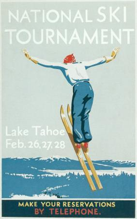 Ski Jumper, National Tournament