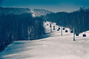Ski Lifts and Ski Slopes