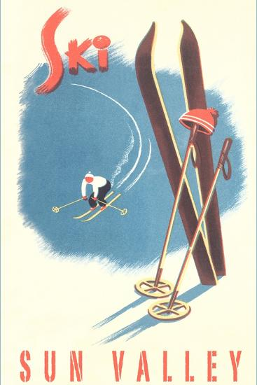 Ski Sun Valley--Art Print