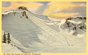 Ski Trails, Mt. Baker, Washington