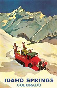Ski Truck in Idaho Springs, Colorado