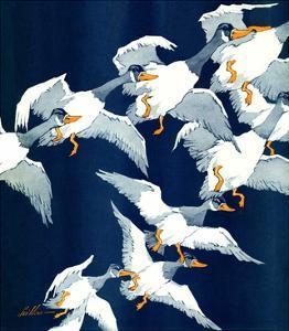 """Flying South,""November 20, 1937 by Ski Weld"