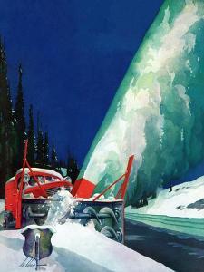 """""""Highway Snowplow,"""" January 18, 1941 by Ski Weld"""