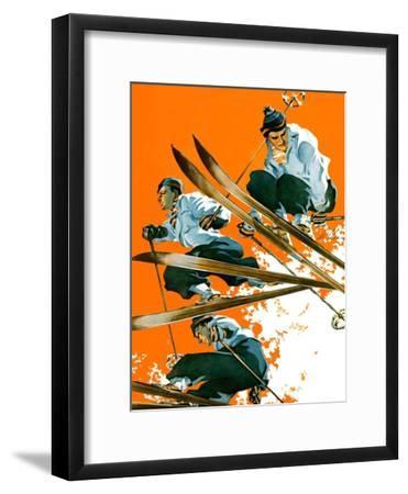 """""""Ski Jumpers,""""February 26, 1938"""