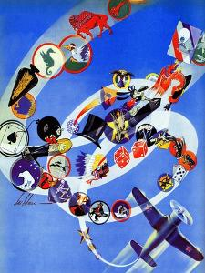 """""""Squadron Insignia,"""" August 23, 1941 by Ski Weld"""