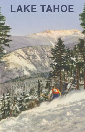 Skier, Lake Tahoe