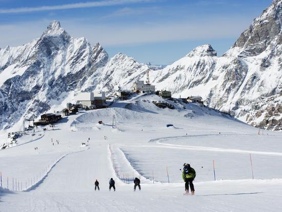 Mountain Skiing - Italy, Valle D`Aosta, Breuil-Cervinia