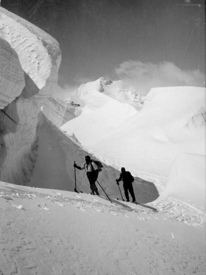 Skiers--Photographic Print