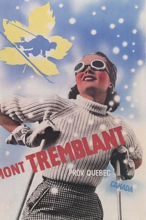 Skiing at Mont Tremblant, Quebec