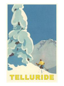 Skiing at Telluride, Colorado