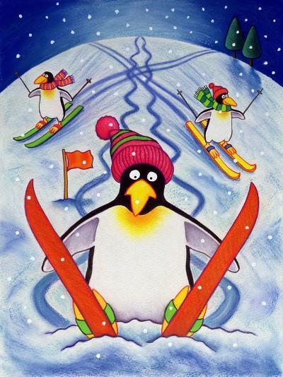 Skiing Holiday, 2000-Cathy Baxter-Giclee Print