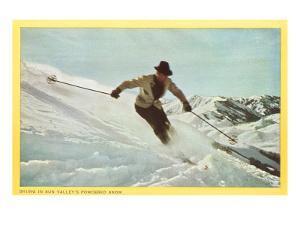Skiing in Sun Valley, Idaho