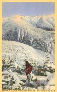 Skiing, Mt. Cannon, Franconia Notch, New Hampshire