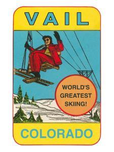 Skiing, Vail, Colorado