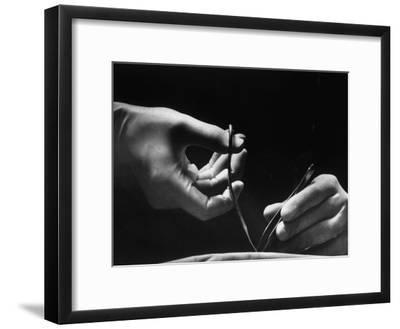 Skilled Hands of a Pediatric Surgeon at John Hopkins Hospital