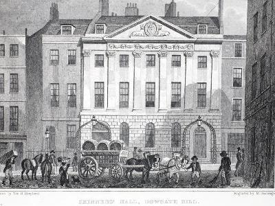 Skinner's Hall-Thomas Hosmer Shepherd-Giclee Print