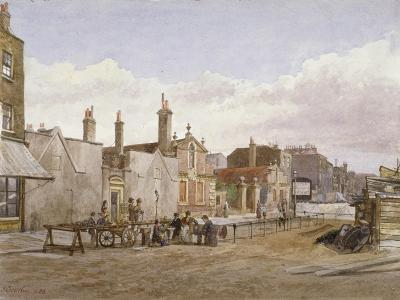 Skinners' Almshouses and Trinity Almshouses, Mile End Road, Stepney, London, 1883-John Crowther-Giclee Print