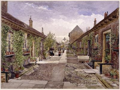 Skinners' Almshouses, Mile End Road, Stepney, London, 1883-John Crowther-Giclee Print