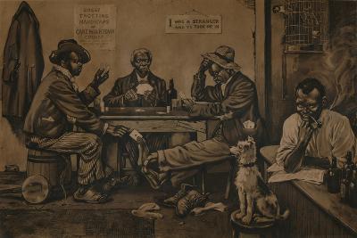 Skinning the Lamb, C1910--Giclee Print