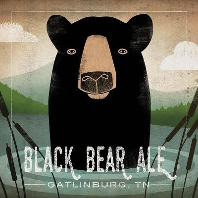 Skinny Dip Black Bear Ale-Ryan Fowler-Art Print