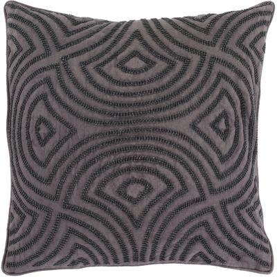 Skinny Dip Poly Fill Pillow - Charcoal