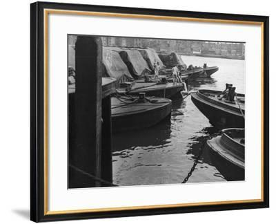 Skinnydipping at Wapping--Framed Photographic Print