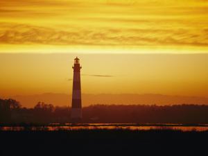 Bodie Island Lighthouse, Oregon Inlet, North Carolina by Skip Brown
