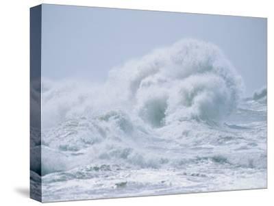Crashing Backwash Waves at Cape Hatteras