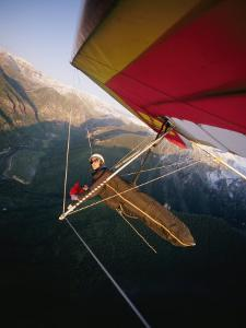 Hang Gliding with Wing-Mounted Camera over Telluride by Skip Brown