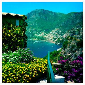 Positano on the Amalfi Coast by Skip Brown