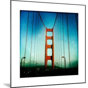South Tower of the Golden Gate Bridge by Skip Brown