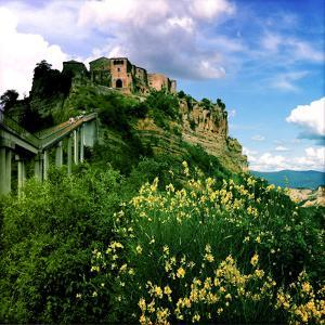The Abandoned Fortress Town of Bagnoregio by Skip Brown