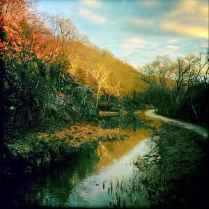 The C&O Canal Towpath Near Great Falls Historic Tavern by Skip Brown