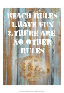 Beach Rules II by Skip Nall