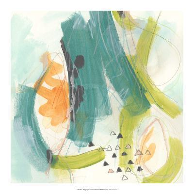 Skipping Stones II-June Vess-Art Print