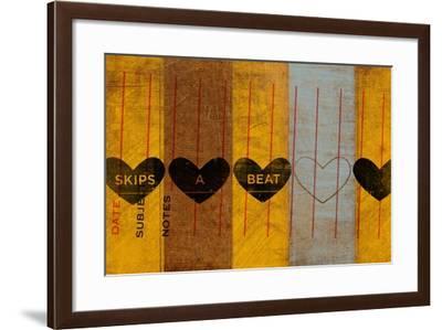 Skips a Beat-John W Golden-Framed Giclee Print