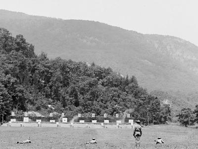 Skirmish Target Practice at 200 Yards, West Point, N.Y.--Photo