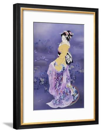 Skiyu Purple Robe-Haruyo Morita-Framed Art Print