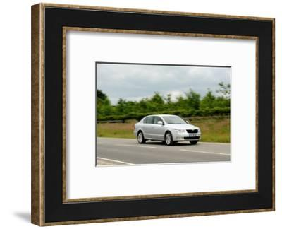 Skoda SUPERB 2008-Simon Clay-Framed Photographic Print
