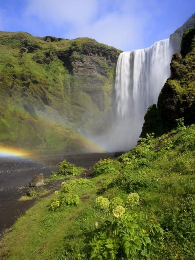Skogafoss Waterfall, South Coast, Iceland-Michele Falzone-Photographic Print