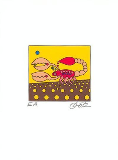 Skorpion-Oliver Loetz-Art Print