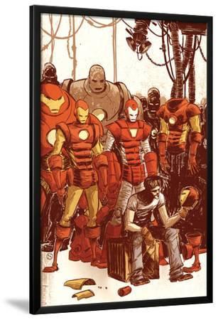 Iron Man & The Armor Wars No.1 Cover: Stark and Tony