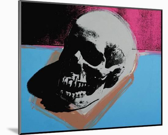 Skull, 1976-Andy Warhol-Mounted Art Print