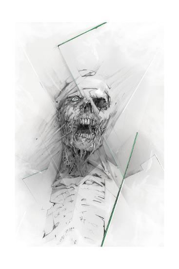 Skull 58-Alexis Marcou-Art Print