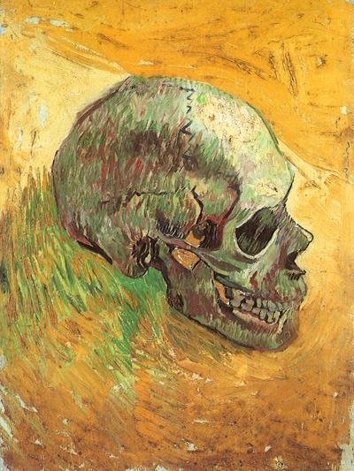 Skull in Profile, 1887-Vincent van Gogh-Giclee Print
