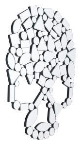 Skull Mirror
