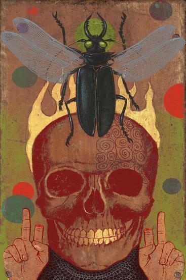 Skull-Anthony Freda-Giclee Print